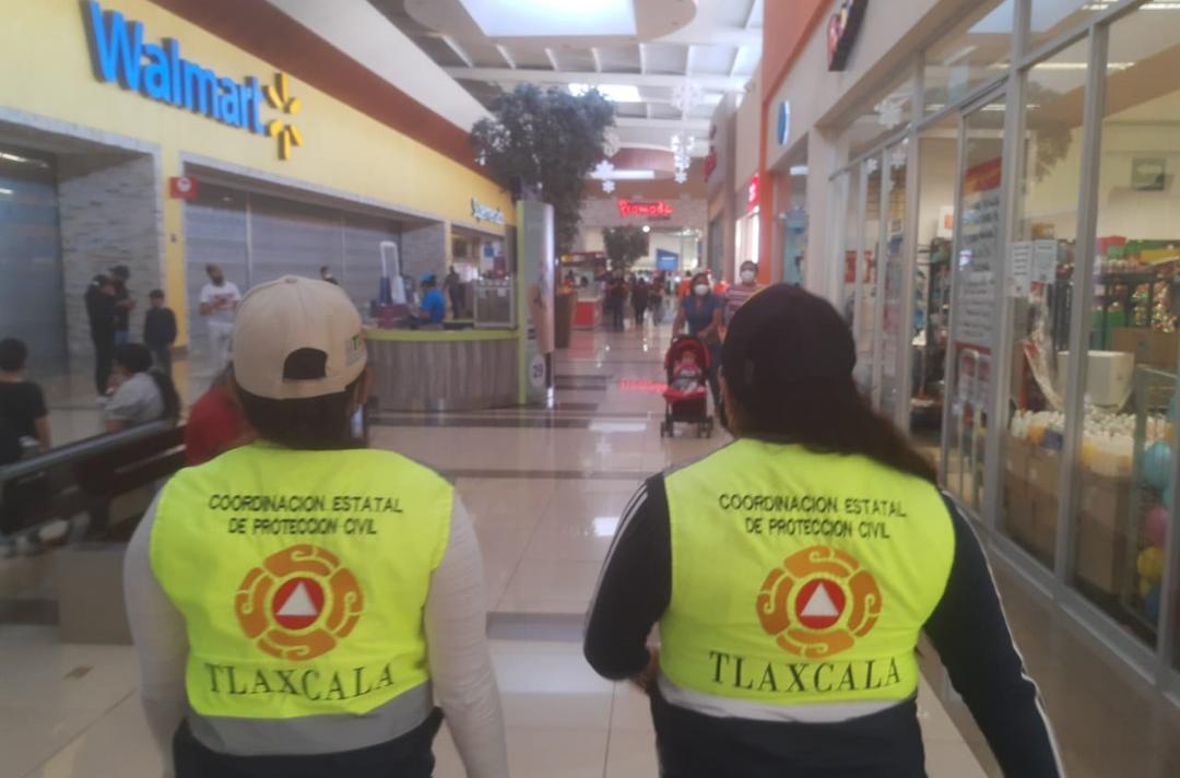 """Implementa CEPC Tlaxcala operativo en centros comerciales de la entidad por el """"Buen fin"""""""