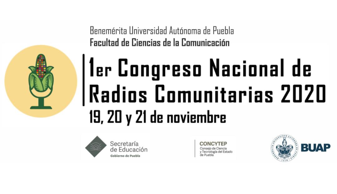 BUAP celebrará el Primer Congreso Nacional de Radios Comunitarias 2020