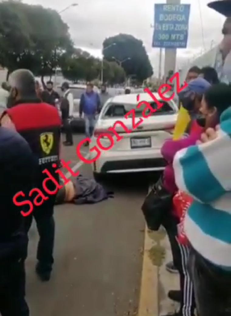 Ebrio conductor atropella y mata a mujer en el centro de Puebla