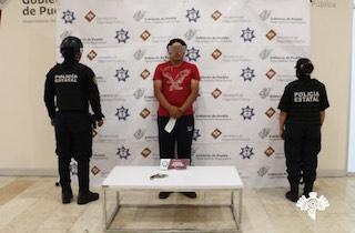 Presunto vendedor de armas y droga fue detenido por la Policía Estatal