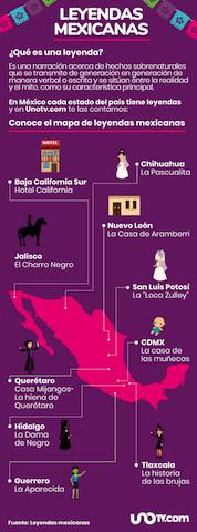 Te erizarán la piel! 32 leyendas mexicanas de terror; una por estado