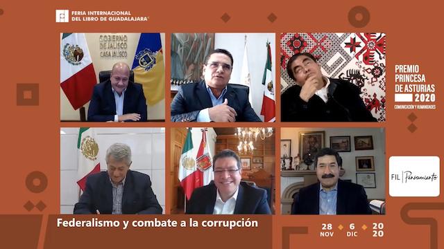 Plantea Marco Mena una conago renovada en panel de la fil 2020 con gobernadores