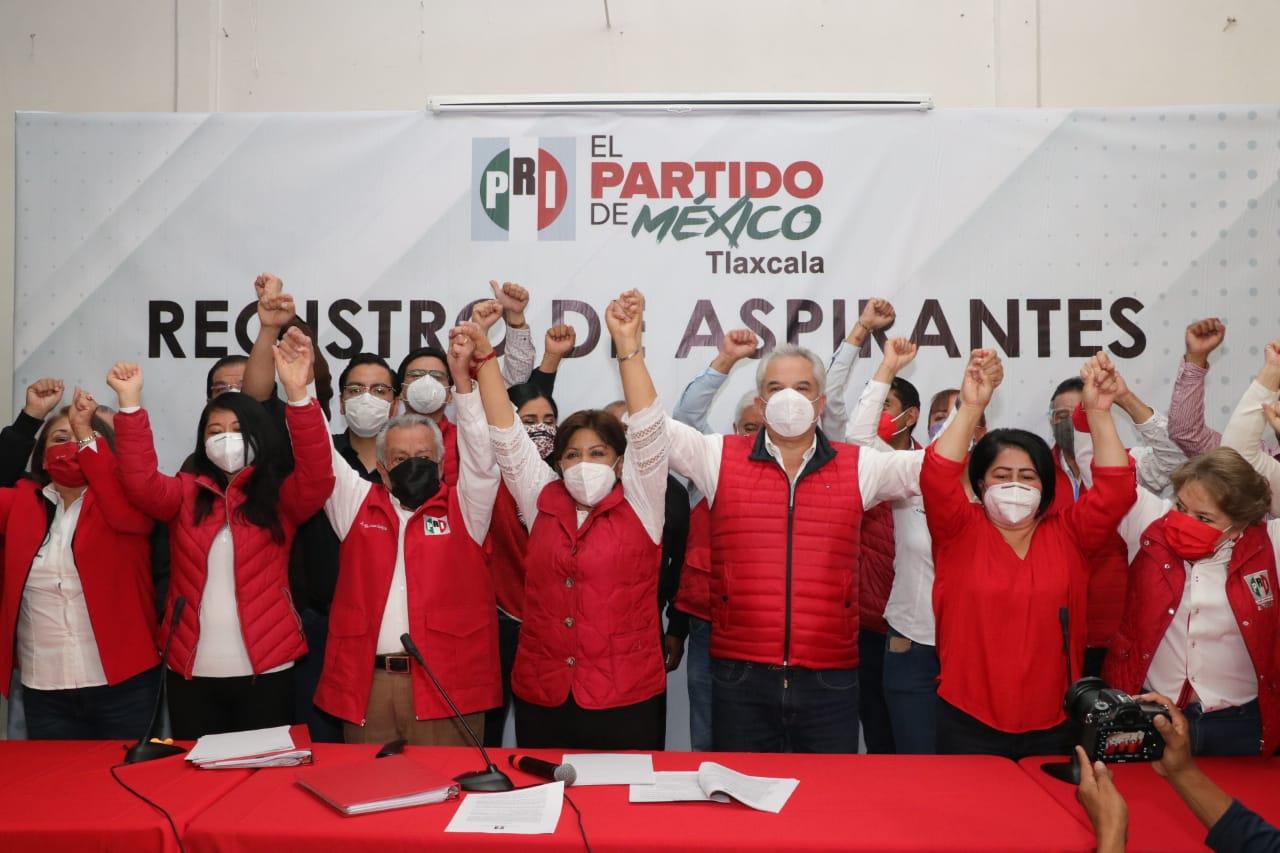 Desde Tlaxcala: Se registra Anabell Ávalos Zempoalteca como candidata del PRI al gobierno