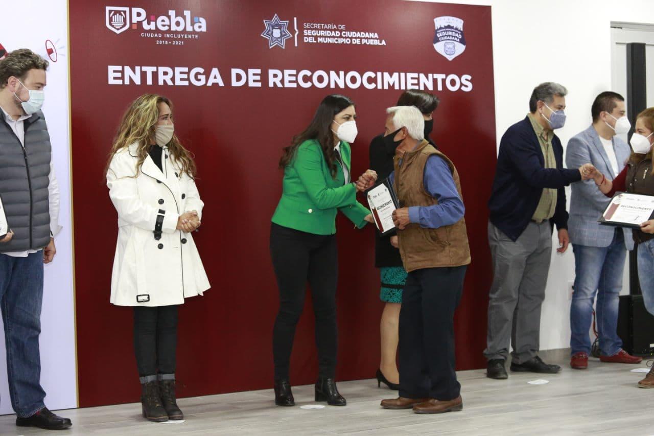 Gobierno de la Ciudad galardona comités vecinales por labor social a favor de la pacificación