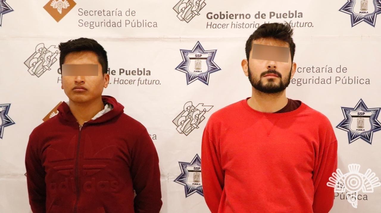 Policía Estatal detiene a presuntos distribuidores de droga por internet