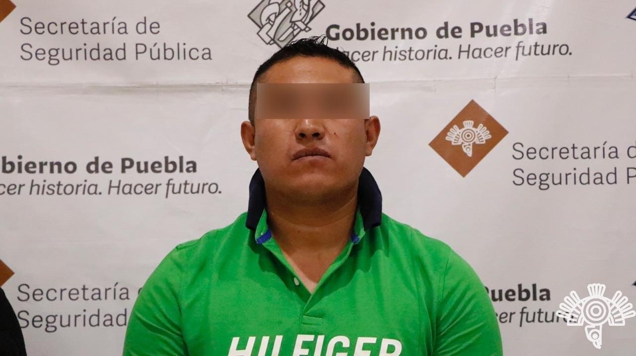 Captura Policía Estatal a presunto líder de la 46 Poniente
