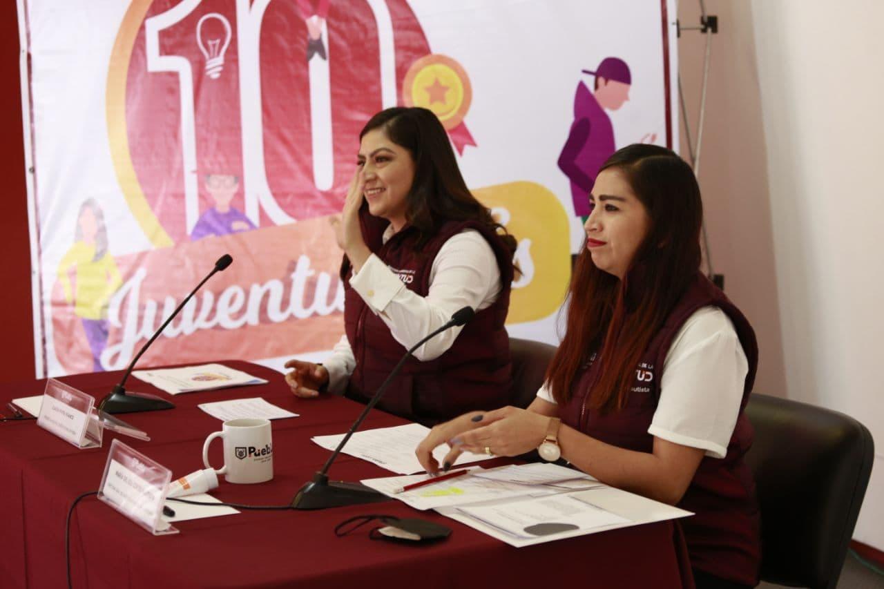 Con foro, Ayuntamiento de Puebla celebra 10 años del Instituto Municipal de la Juventud