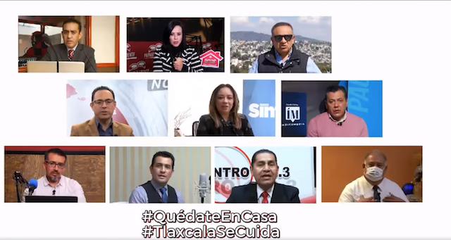 Desde Tlaxcala: Medios de comunicación locales llaman a ciudadanía a reforzar medidas contra Covid-19 en invierno
