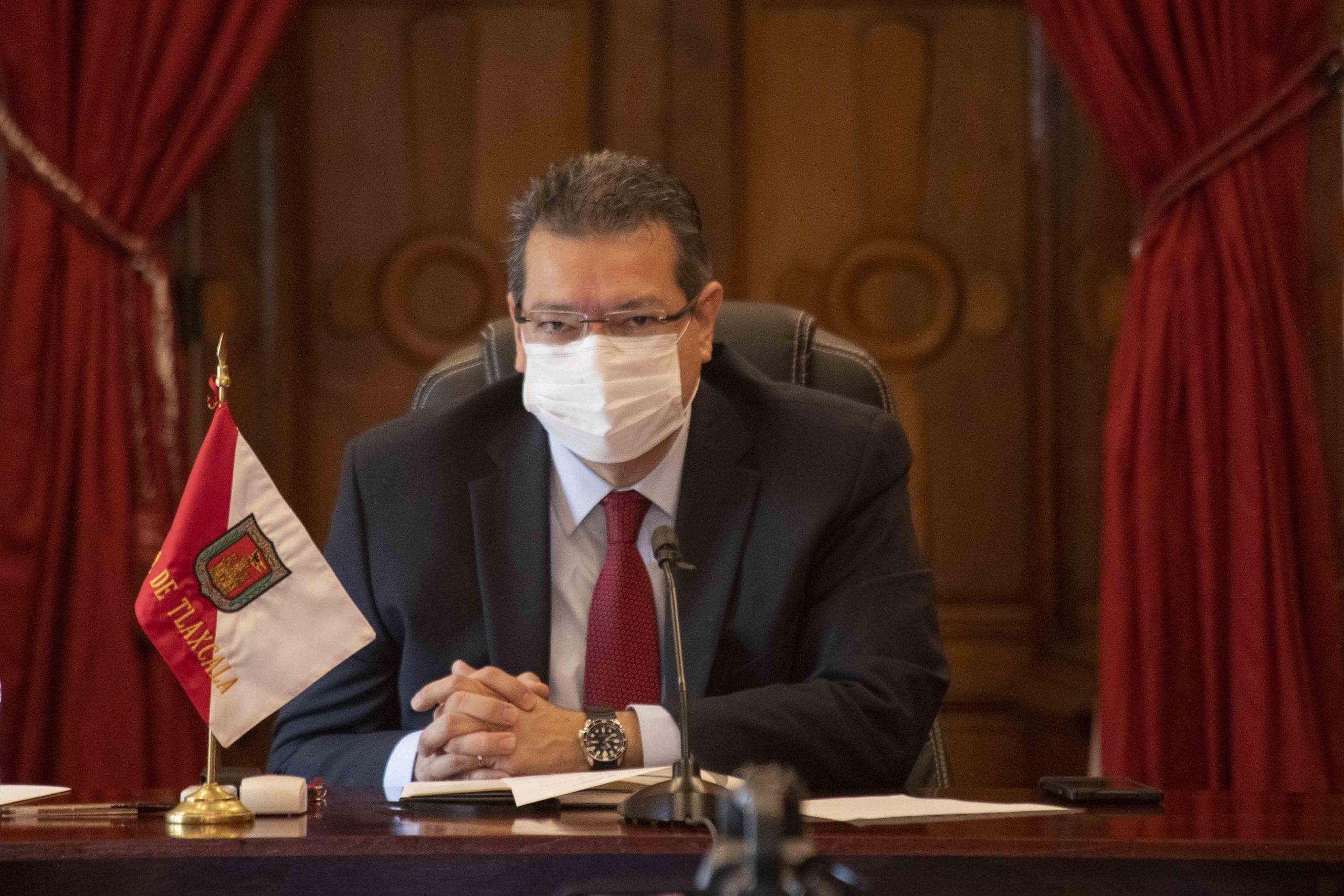 Marco Mena participa en sesión ordinaria del Consejo Nacional de Seguridad Pública.