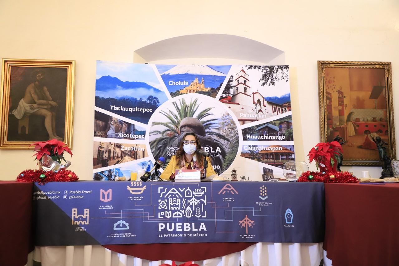 Anuncia Turismo estatal acciones de promoción y reactivación del sector para 2021
