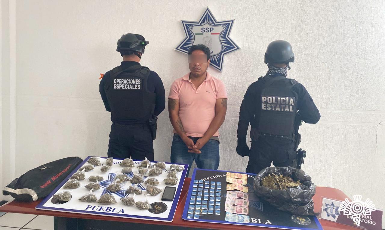 """Captura Policía Estatal a presunto sicario de """"El Grillo"""" y/o """"La Patrona"""""""