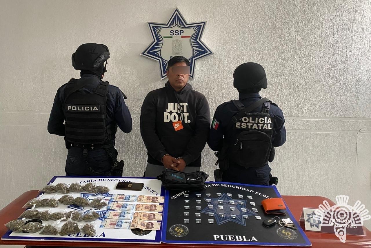 Captura Policía Estatal a objetivo prioritario del atlas delictivo