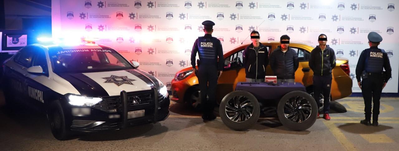 Detienen a banda dedicada al robo de vehículos y autopartes