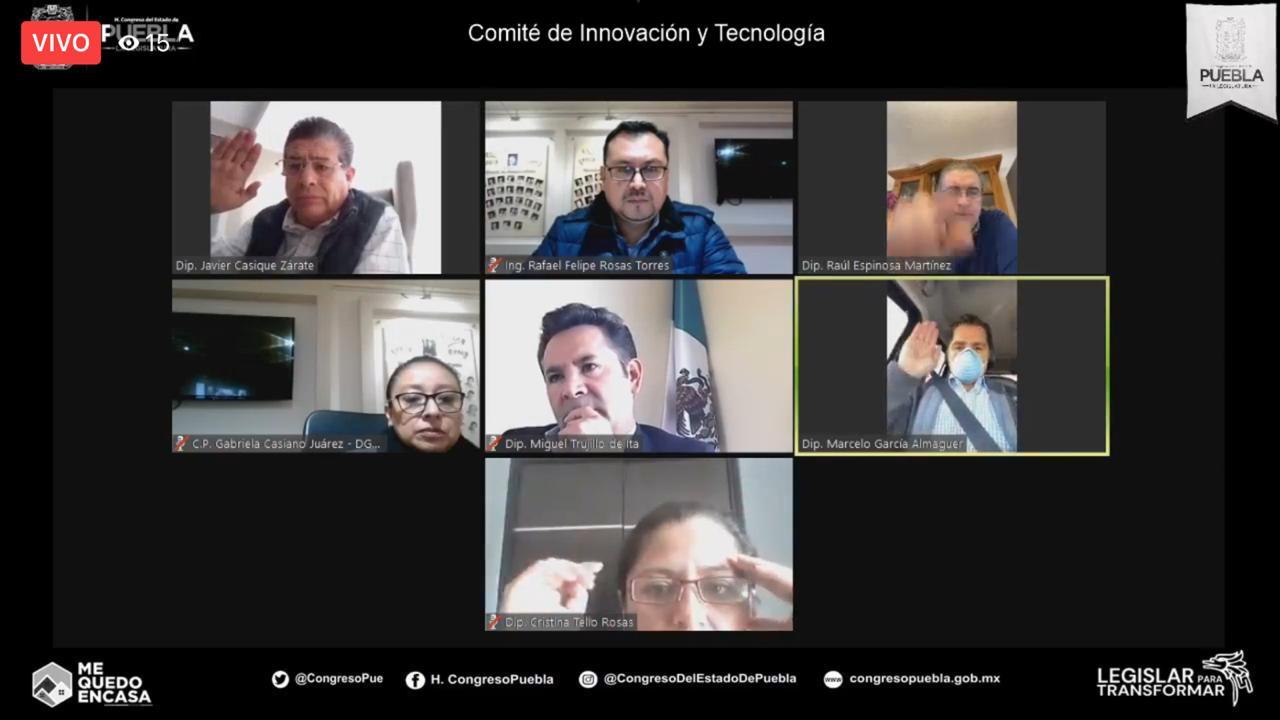 Congreso del Estado de Puebla tendrá micrositio de datos abiertos a propuesta