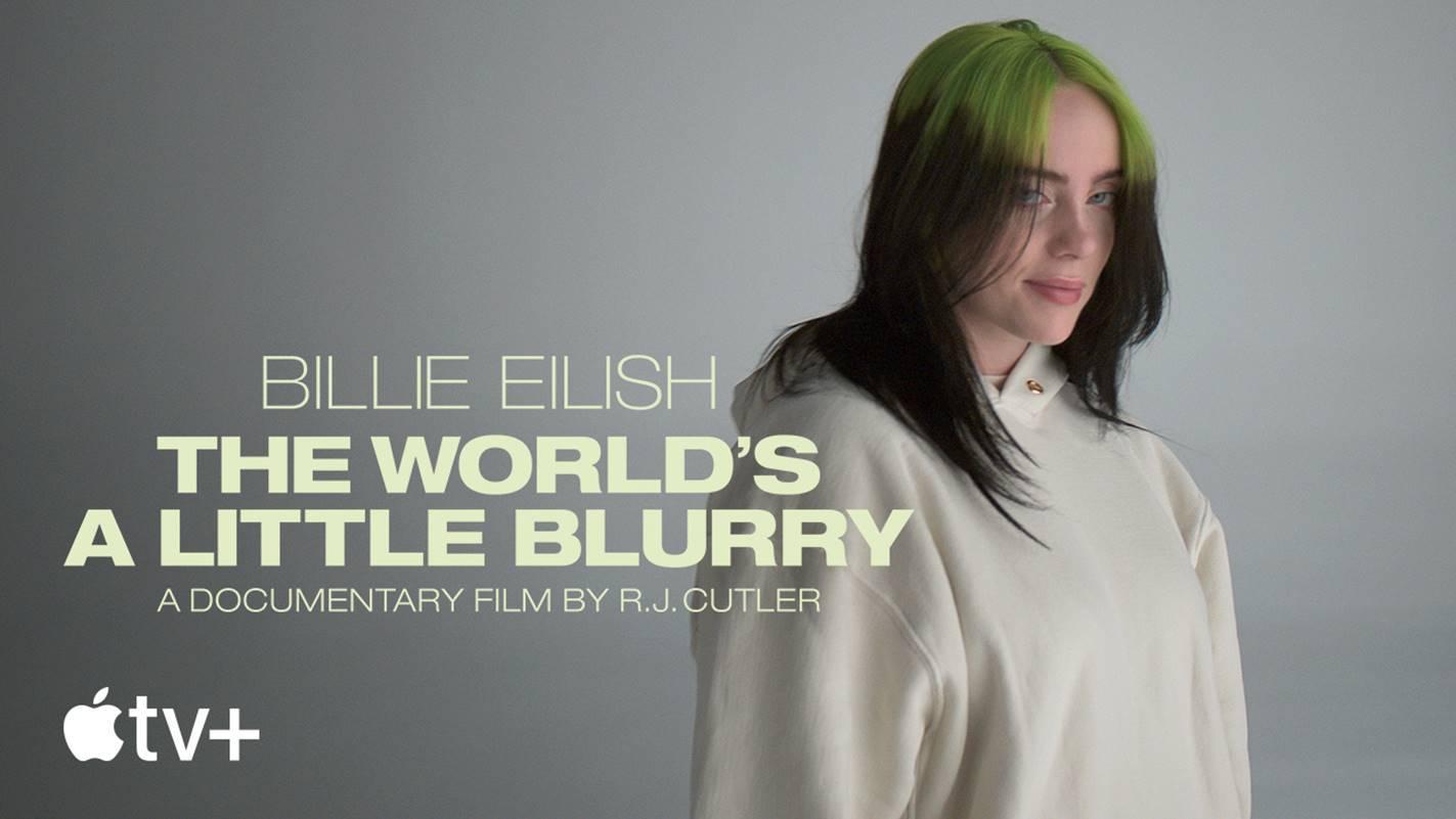 """Apple TV reveló el tráiler oficial de """"Billie Eilish: The World's a Little Blurry"""""""