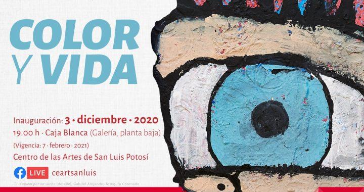 """Inaugurarán exposición """"Color y vida"""" en el CEARTSLP"""