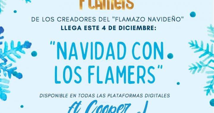 """Navidad con Los Flamers"" Ft. Cooper J sonará a nivel nacional a partir del viernes 4 de diciembre"