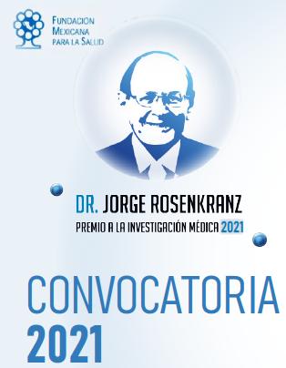 Roche México y funsalud convocan a participar en premio a la investigación médica Dr. Jorge Rosenkranz 2021