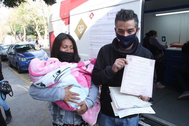 Expide SEDIF registros de nacimiento gratuitos en San Baltazar Campeche