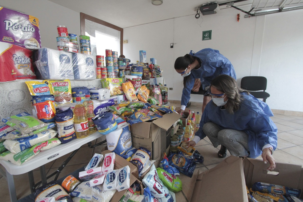 Entrega SEDIF apoyos alimentarios en asilos con convenio