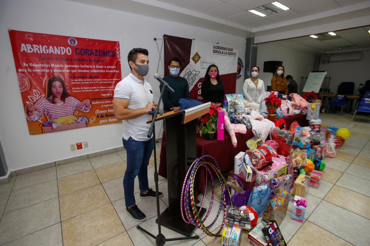 """Contribuye Grupo Modelo con campaña """"El Corazón de Puebla"""" del SEDIF"""