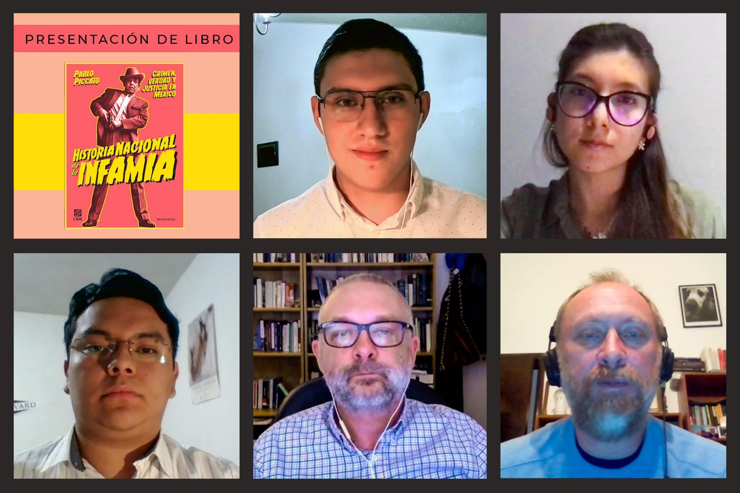 Investigador presenta libro sobre el crimen, verdad y justicia en México