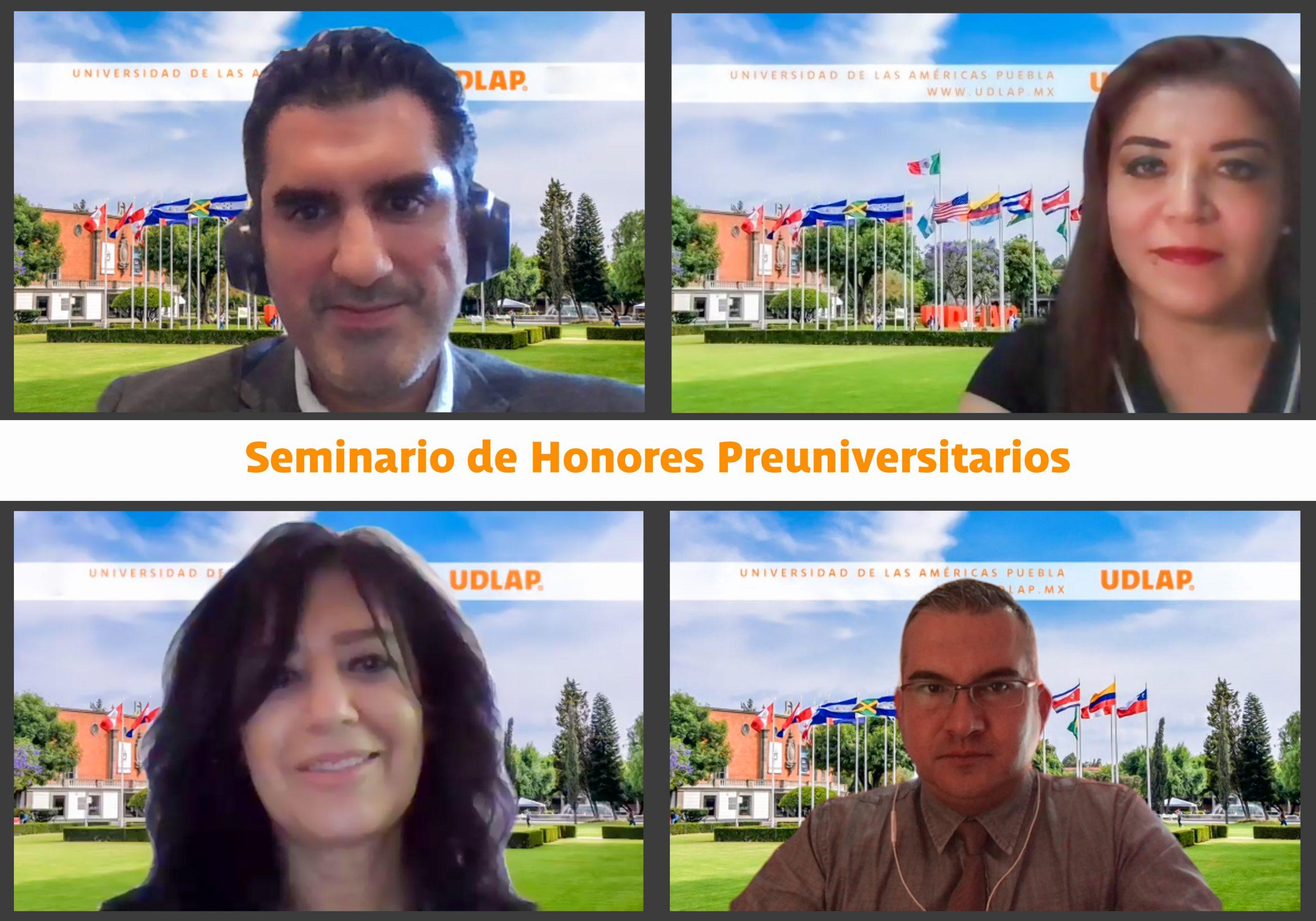 UDLAP brinda Seminario de Honores Preuniversitario a jóvenes de preparatoria
