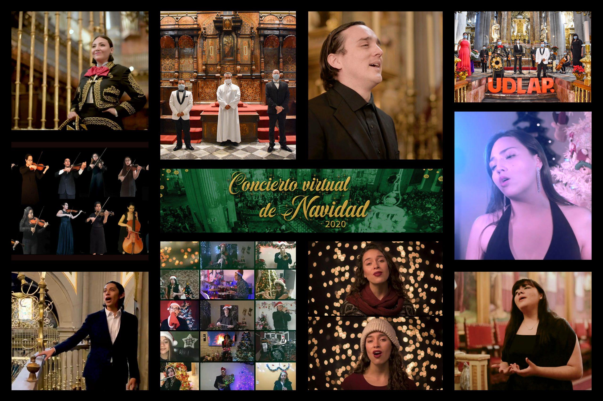 La UDLAP realizó su tradicional concierto de Navidad virtual