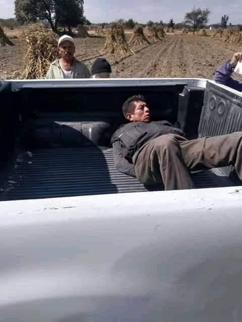 Frustran robo contra camión de Bimbo en Acajete