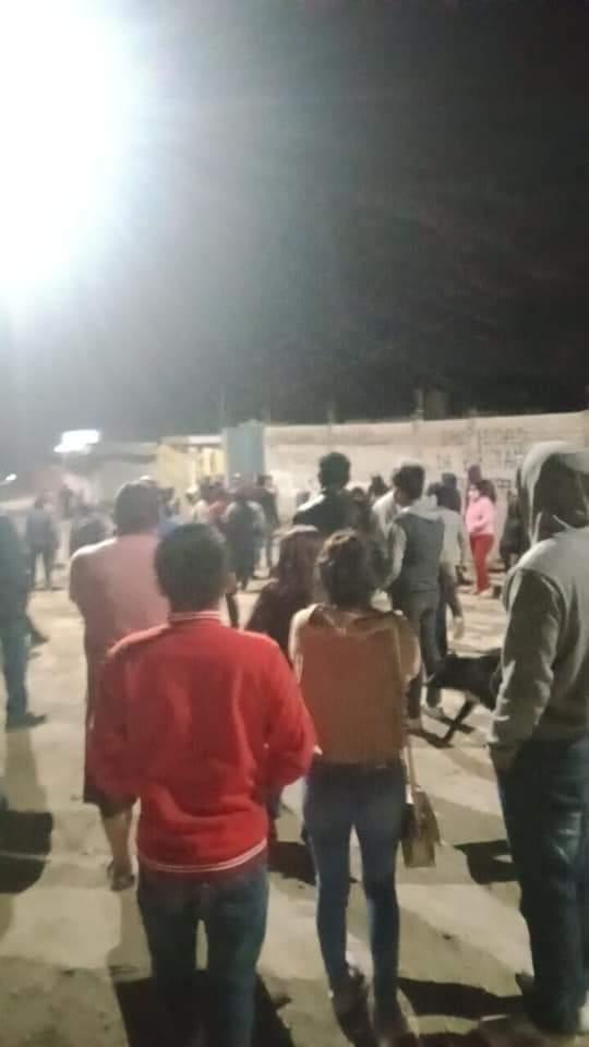 Fotonota: Asaltantes de niños escapan de linchamiento en Tehuacán