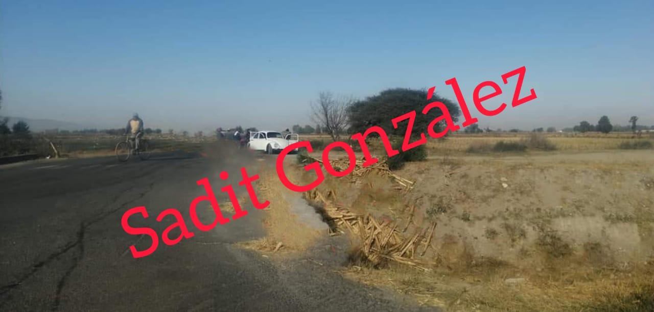 Encuentran cadáver envuelto y tirado en Tecamachalco