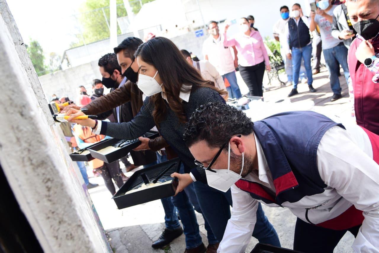Con programa MAS Mercados, Ayuntamiento de Puebla remodela centro de abasto en Mayorazgo