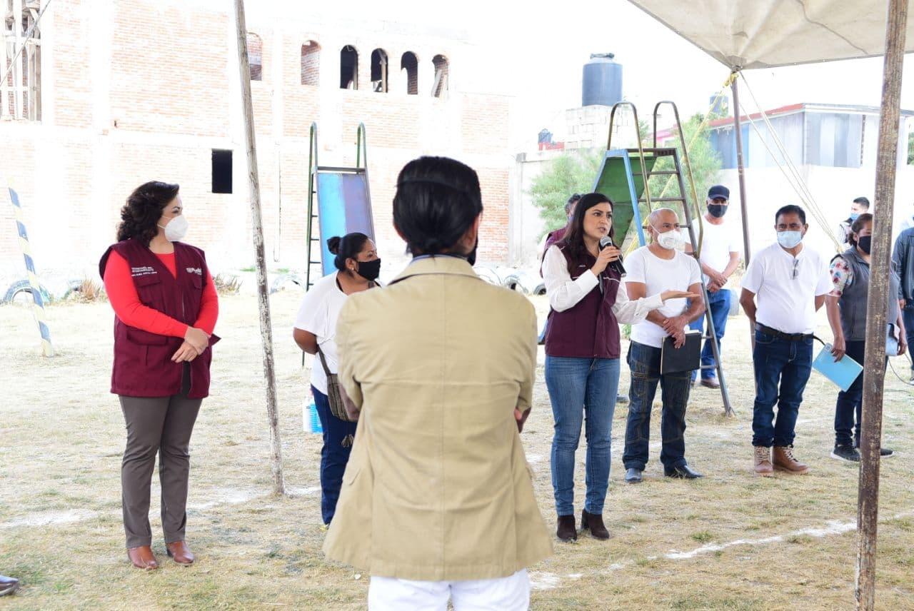 Gobierno de la Ciudad brinda asesorías para regularización de predios en San Ramón, El Castillo y Lomas de Castillotla