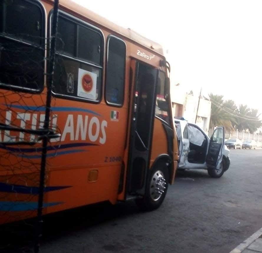 Altiplano y patrulla estatal chocan en Huejotzingo