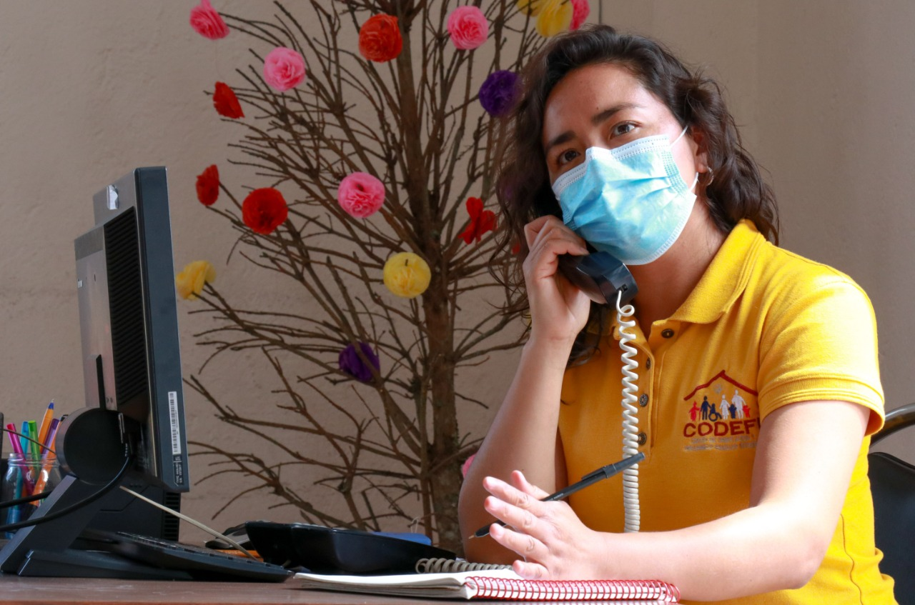 Mantendrá SEDIF consultas telefónicas para ayuda psicológica