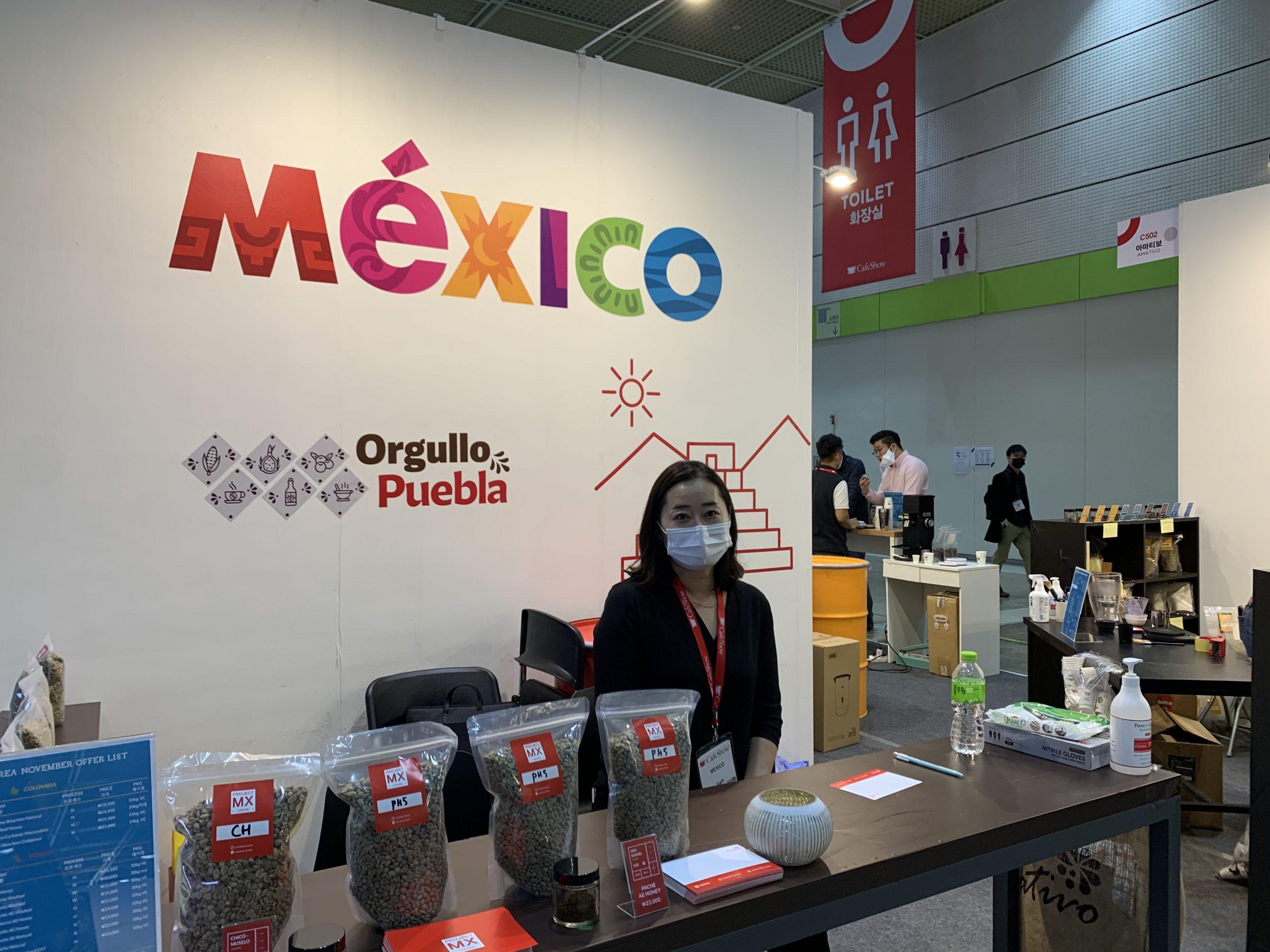Puebla con potencial comercial para exportar café a Corea del Sur
