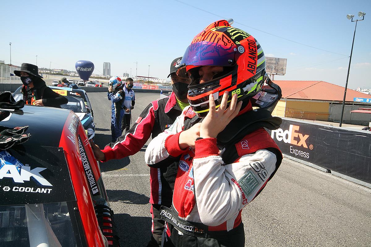 Trabajará Paco Ablanedo Jr para cerrar con podio en Puebla