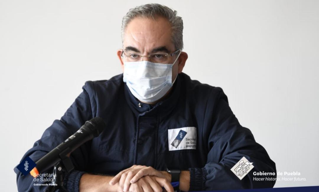 Video desde Puebla: Se registran en la entidad cinco muertos más por coronavirus en Puebla y se superan los 42 mil contagios acumulados, informó el secretario de Salud