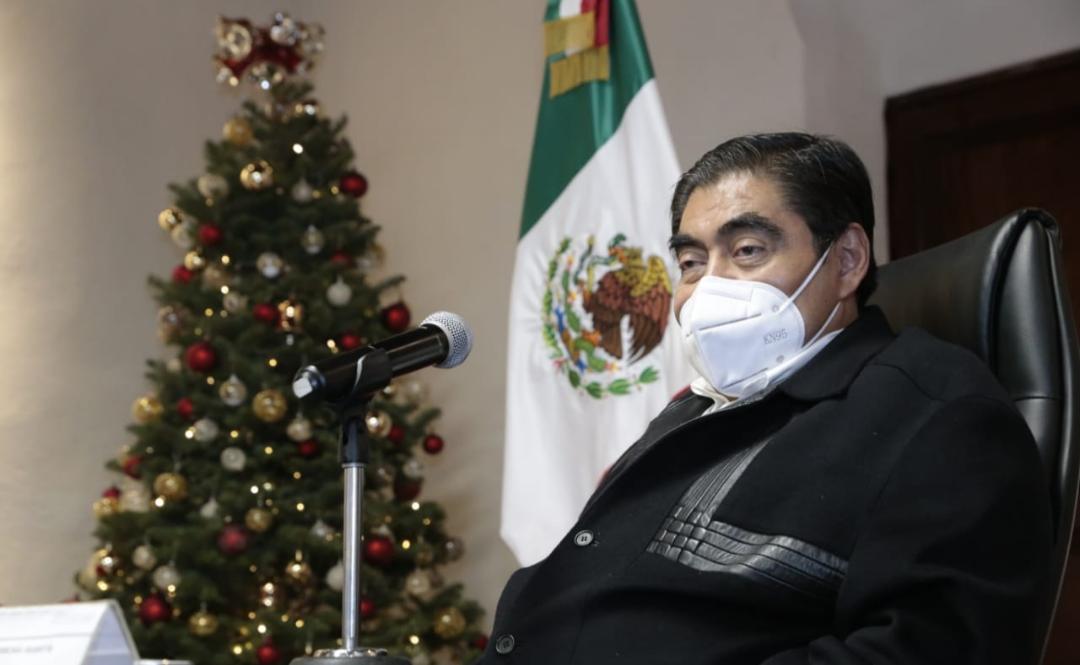 Gobernador Barbosa informó que Puebla regresó al color naranja en el semáforo epidemiológico
