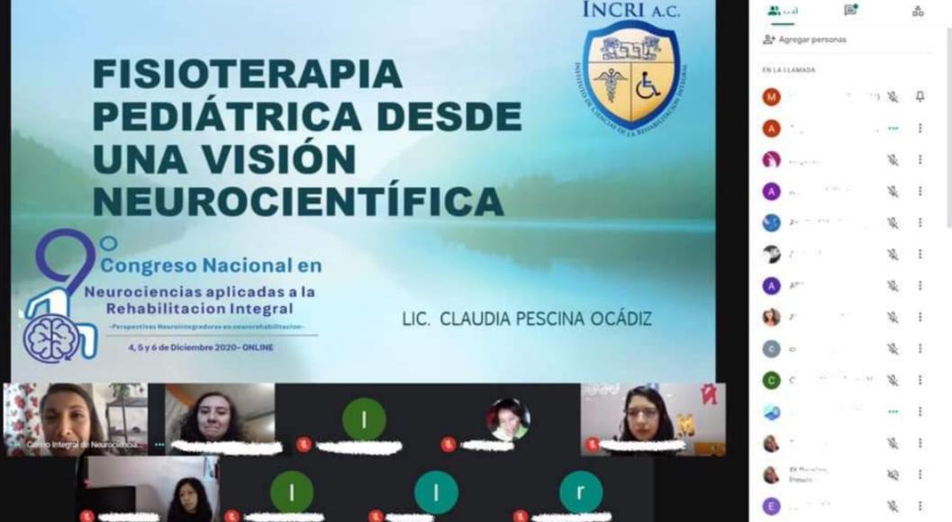 Participa SMDIF en 9° Congreso Nacional De Neurociencias Aplicadas en la Rehabilitación Integral 2020