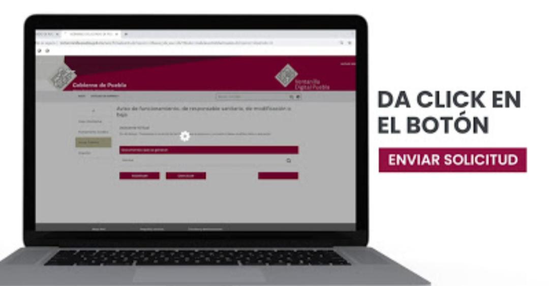 """Habilita gobierno descarga digital del """"aviso de funcionamiento de responsable sanitario"""""""