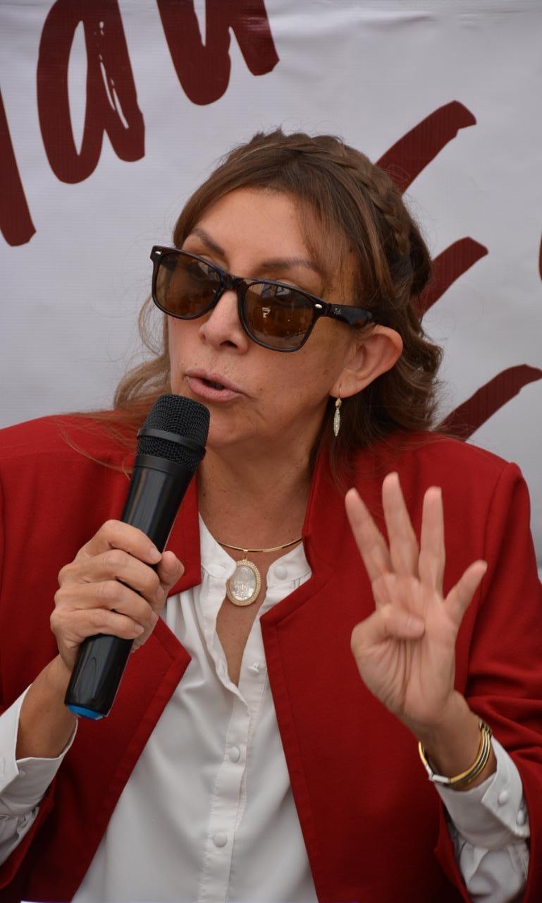Crecen feminicidios no resueltos, persiste impunidad en casos de Lucía Hervert y Lourdes Cárdenas, afirmó Francisca Reséndiz Lara