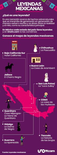 ¡Te erizarán la piel! 32 leyendas mexicanas de terror; una por estado