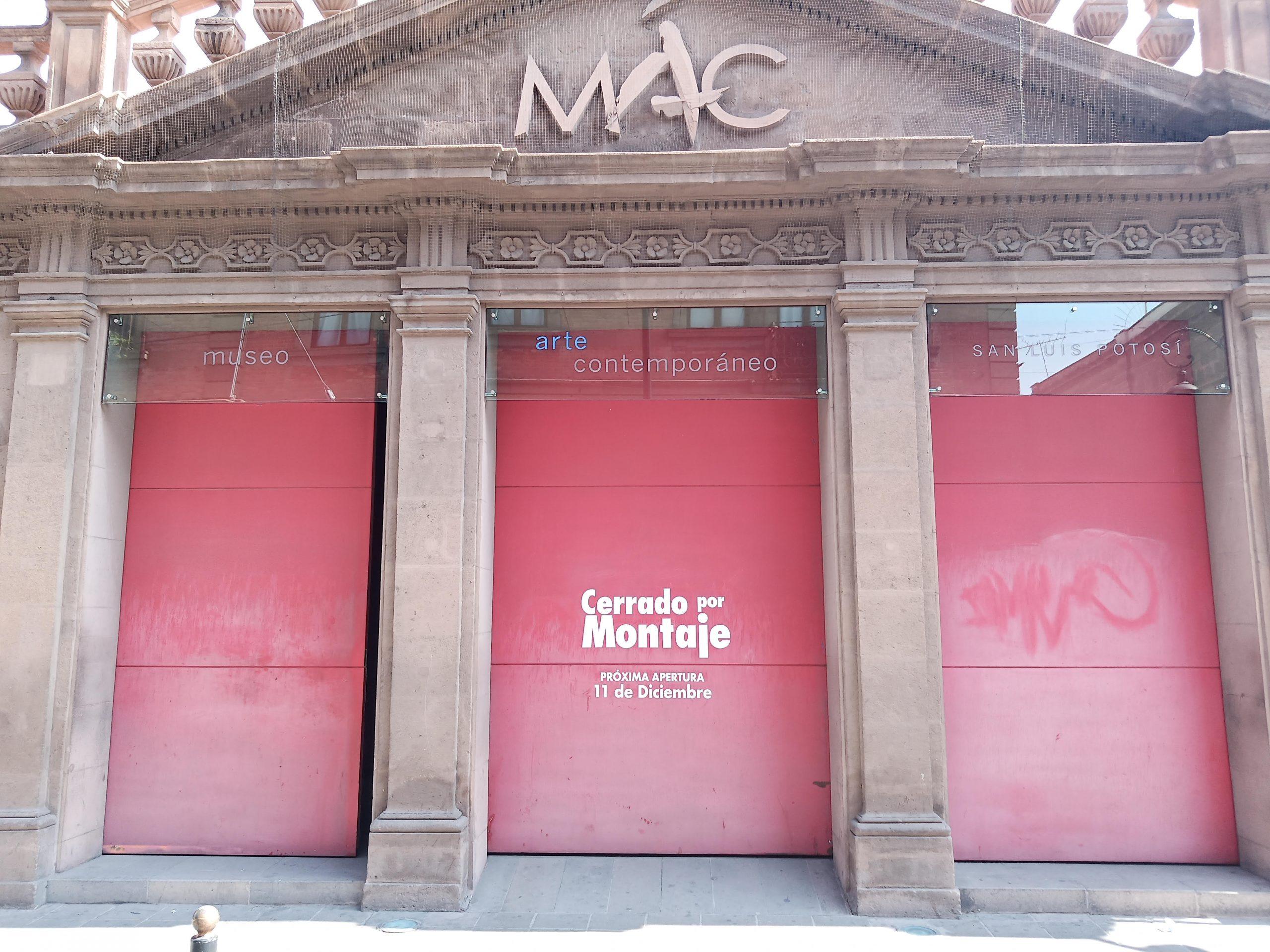 El Museo de Arte Contemporáneo permanecerá cerrado a causa de montaje por nueva exposición