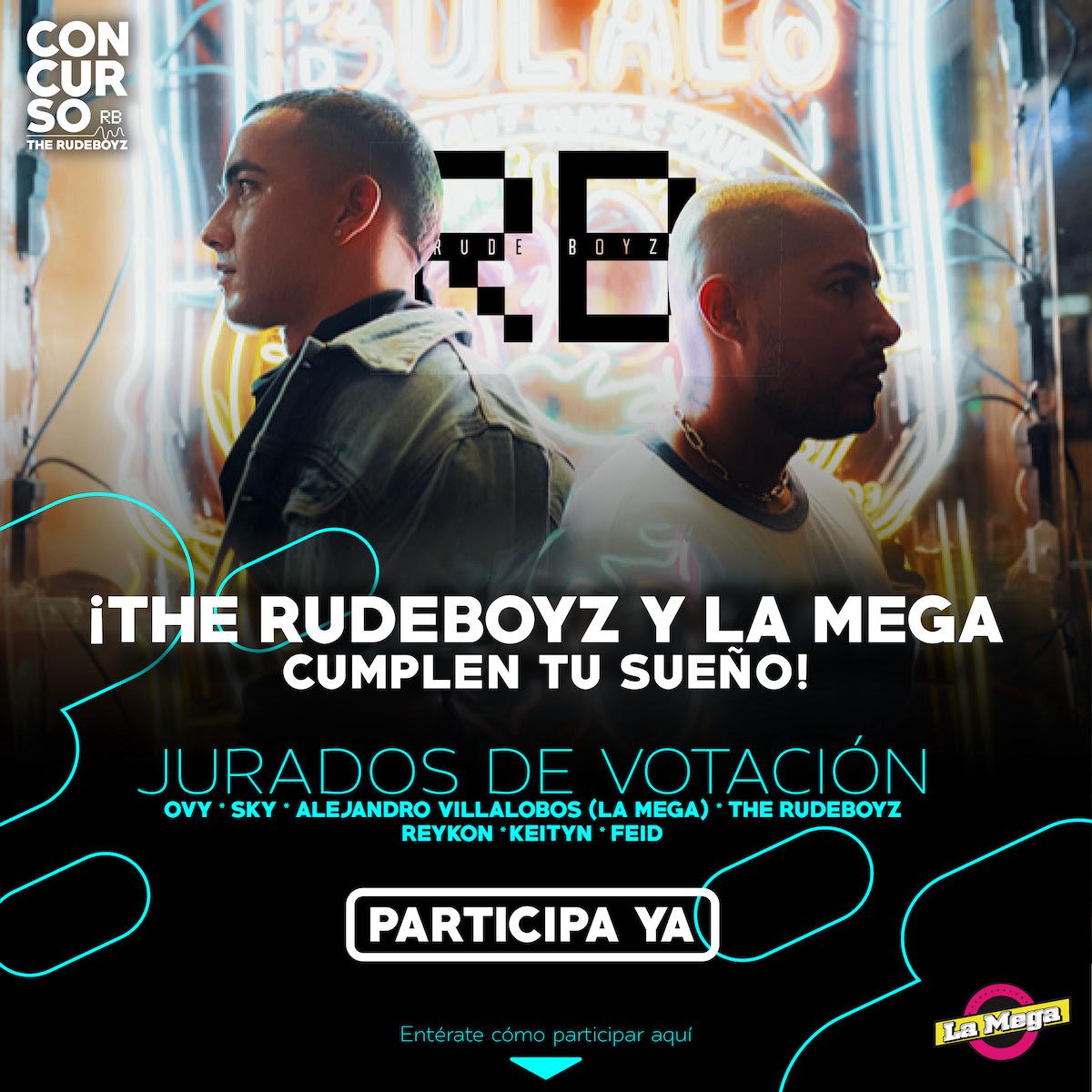 The Rudeboyz y La Mega de Colombia abren puerta a los artistas nuevos