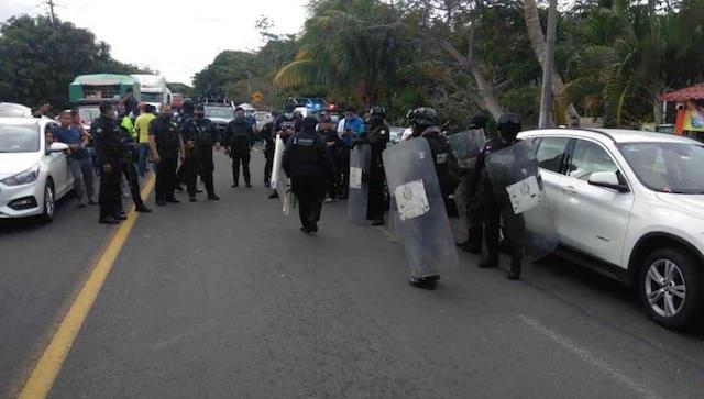 Tras 3 días sin electricidad, protestan en Alvarado y Veracruz