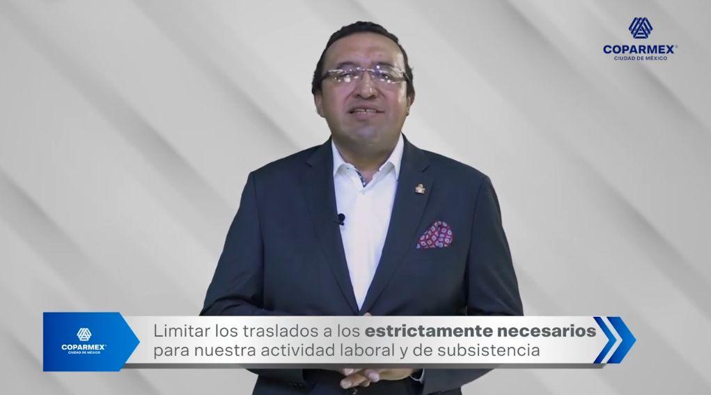 Urge COPARMEX CDMX a acatar las medidas para evitar contagios en la Ciudad de México