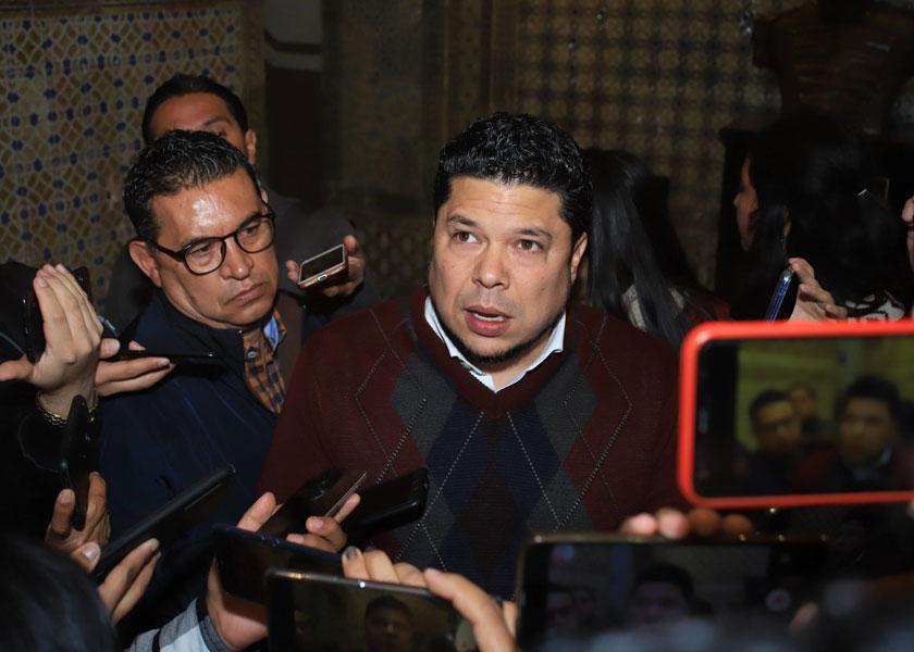 Niega Biestro estar detrás del desplazamiento de Edgar Garmendia como presidente estatal de Morena