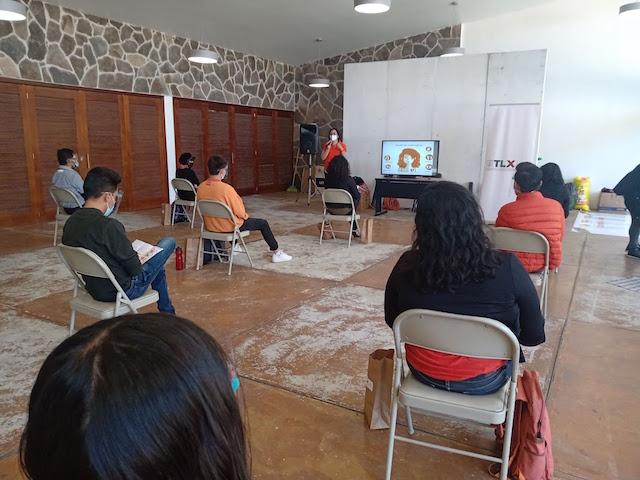 Desde Tlaxcala: Beneficia ITJ a mil 981 jóvenes con talleres y capacitaciones