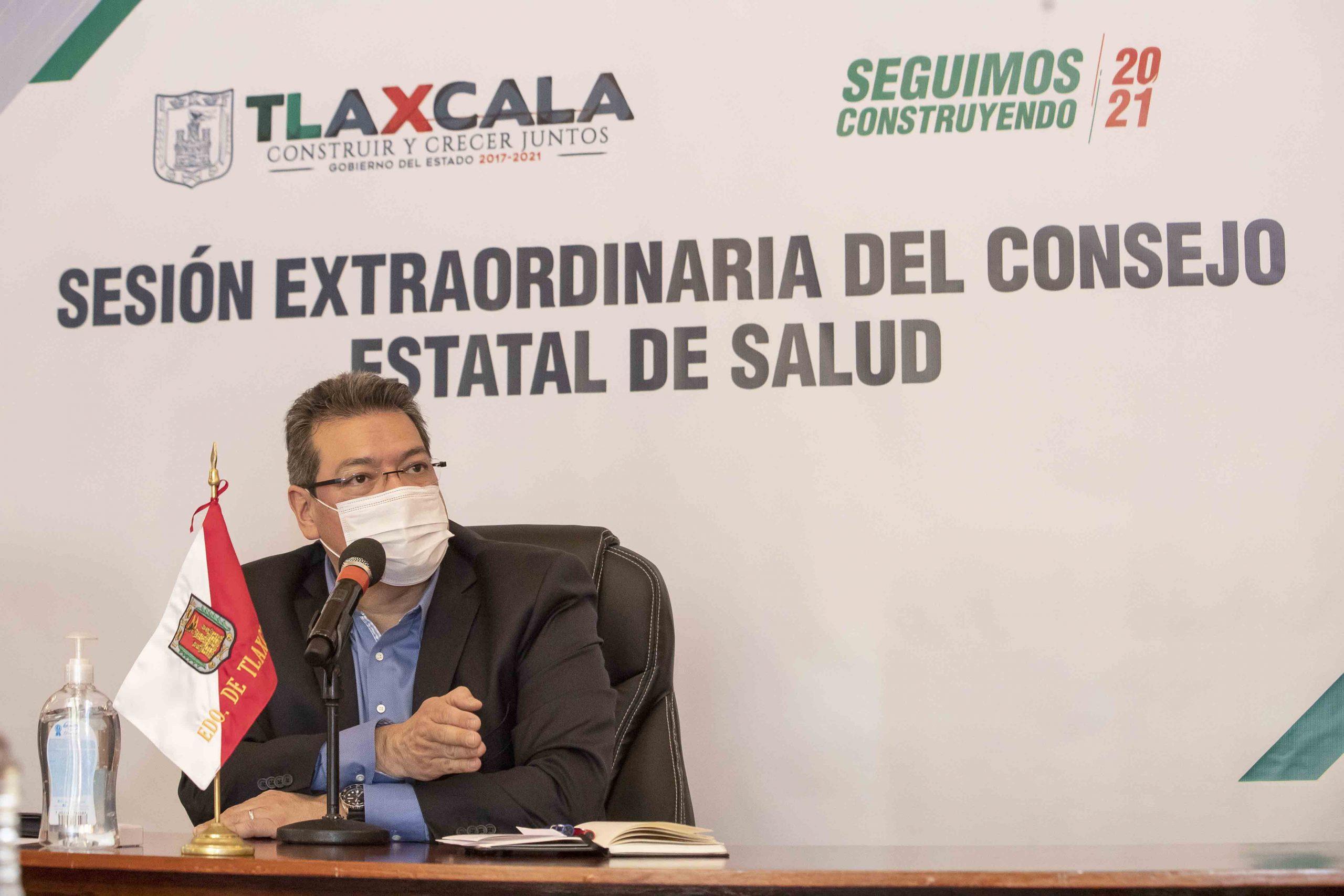 Desde Tlaxcala: Consejo Estatal de Salud anuncia medidas adicionales para contener contagios de Covid-19.